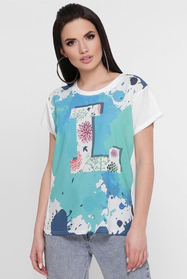 """Красива жіноча футболка з принтом """"Air"""""""