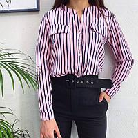 Женская модная блузка  БХ354, фото 1