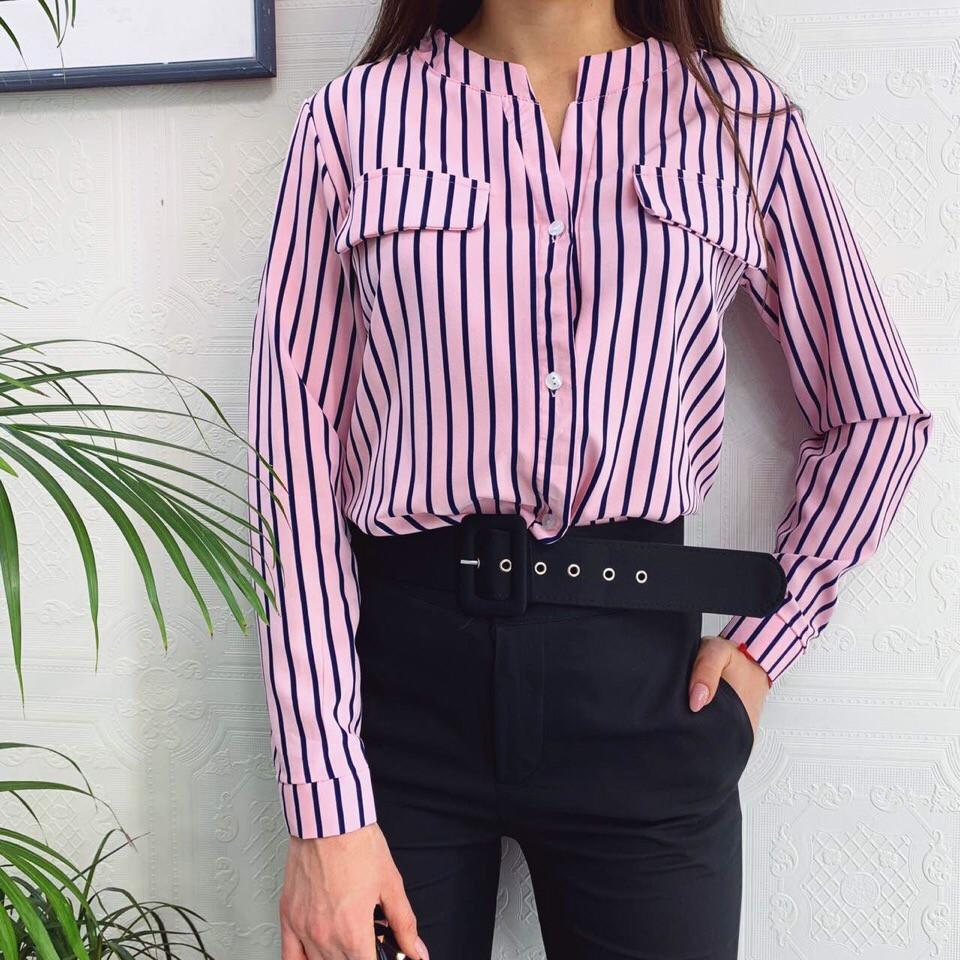 Женская модная блузка  БХ354