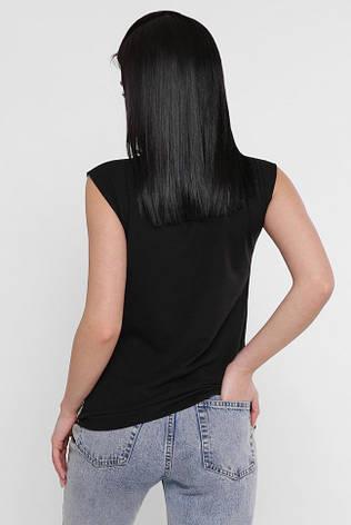 """Жіноча футболка з коротким рукавом """"Classic"""" рожевий принт, фото 2"""