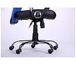 Кресло АЭРО HB Line Color сиденье Сетка чёрная,Неаполь N-20/спинка Сетка синяя, вставка Неаполь N-20, фото 7