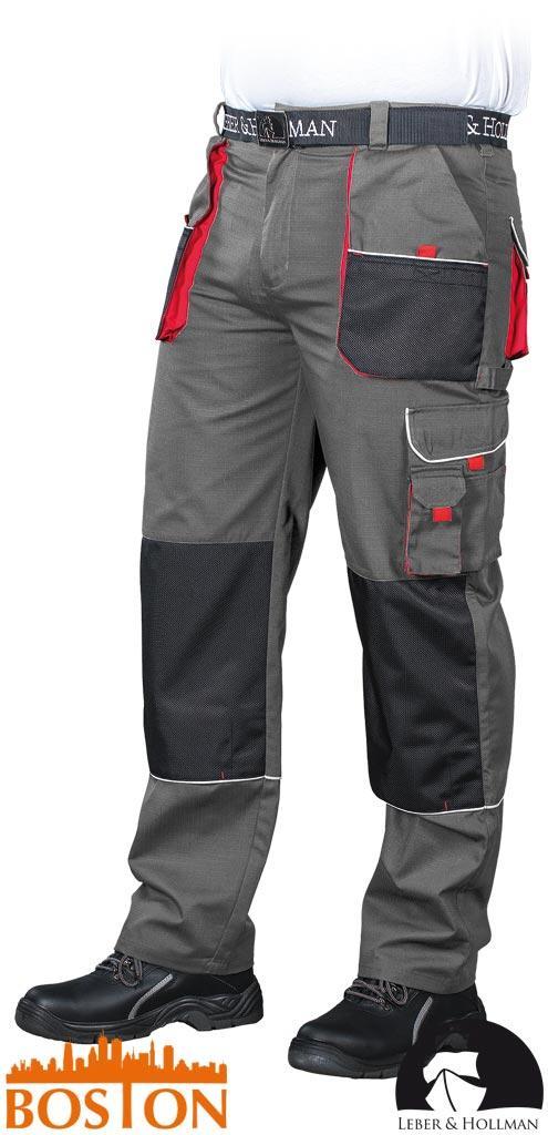 Брюки защитные BOSTON изготовлены из ткани типа rip-stop.LEBER HOLLMAN- Германия