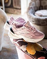 Кроссовки женские Nike М2K Tekno розовые ТОП реплика, фото 1