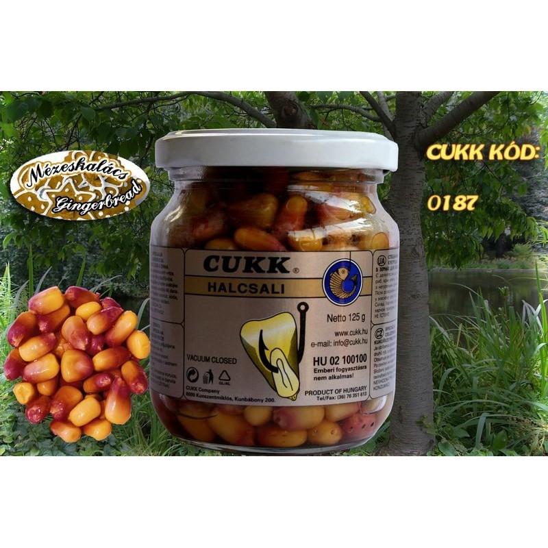 Кукуруза Cukk Имбирный пряник (светло-кор) Крашенная в стекл.банках 220мл(мокрая)
