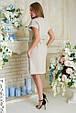 Платье летнее Пронто АПП 0131 бежевый, фото 2