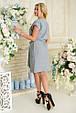 Платье летнее Пронто АПП 0134 серый, фото 4