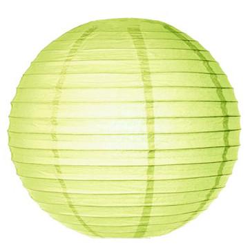 Бумажные шары плиссе 40 см салатовый