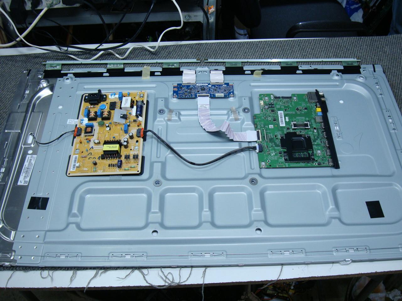Запчасти к телевизору Samsung UE43M5572AU (BN41-02575, BN44-00871C L40E1R_KDY, t430hvn01.6 43T01-C04)
