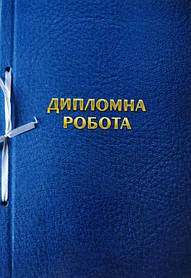 Папки для дипломних робіт 100 аркушів, обкладинка тверда Ц349013У