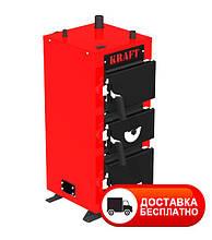 Твердотопливный котел Крафт 12 кВт серия Е под механику