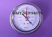 Вакууметр для измерения давления Value 310500301, 2 стрелки , присоедин. с низу