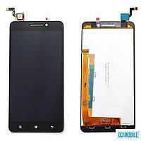 Дисплей (экран) для телефона Lenovo A5000 + Touchscreen Original Black