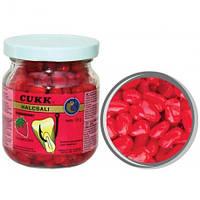 Кукуруза Cukk Клубника (красный) Крашенная в стекл.банках 220мл(мокрая)