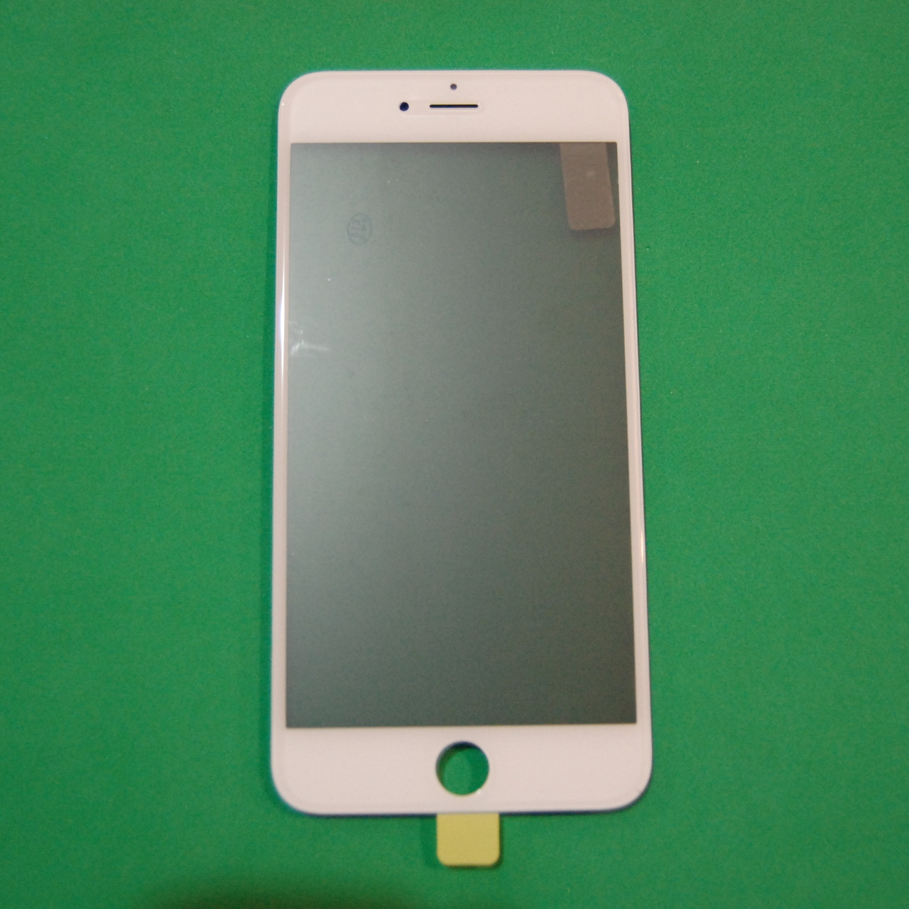 Стекло корпуса для Apple iPhone 6 Plus с рамкой,OCA пленкой,поляризационной пленкой, белое