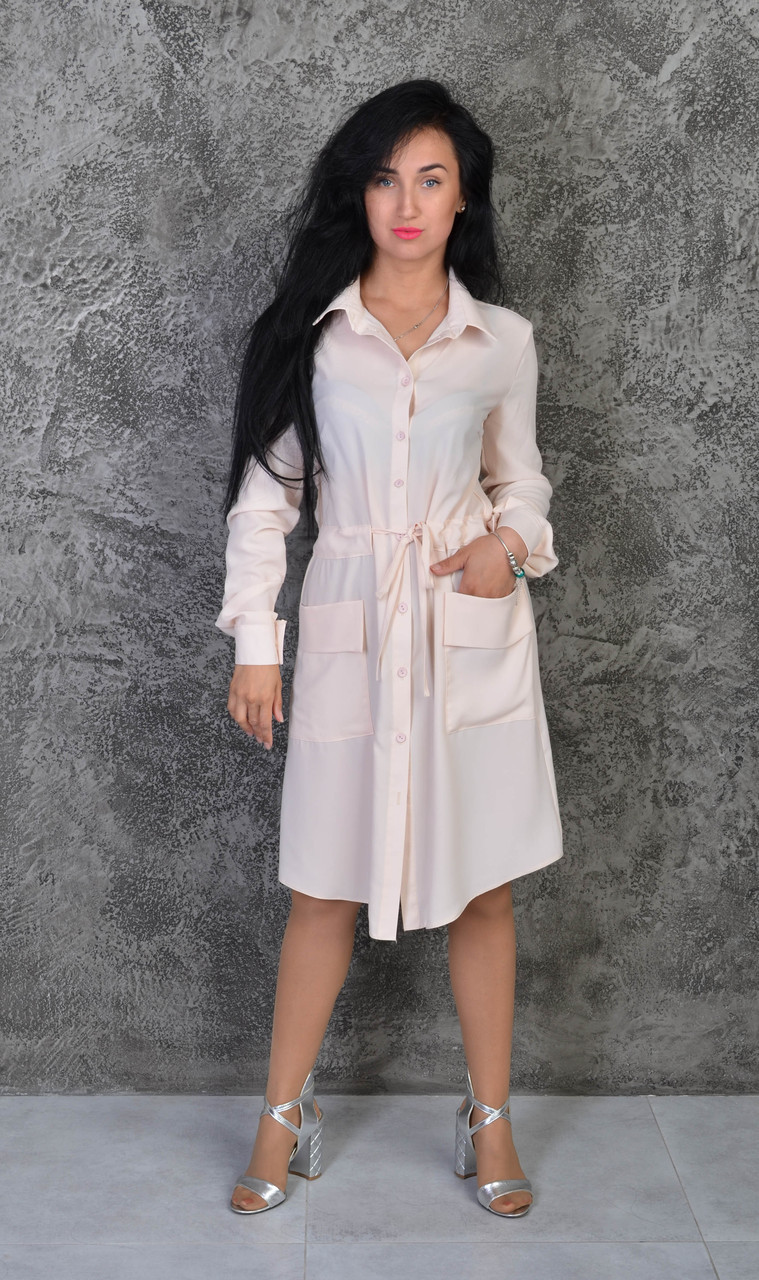 Платье- рубашка. Размеры 42-44,46-48,50-52.