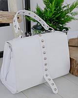 Шкіряні сумки італія  , кожаные сумки италия купить украина в белом цвете
