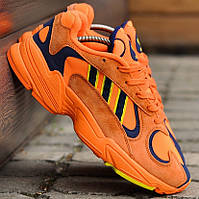 Женские и мужские кроссовки Adidas Yung-1 Orange Navy