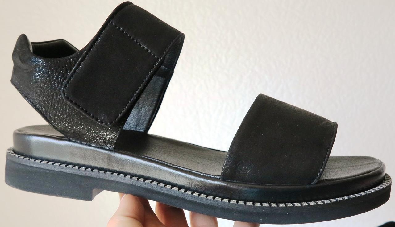 eacf19a93586a0 Літні чорні жіночі босоніжки Lion натуральна шкіра сандалі шкіряні -  VZUTA.COM.UA в