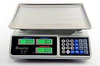 Весы торговые электронные от 5 грамм до 55 кг Domotec DM