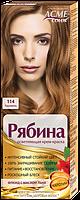 Краска для волос ACME-COLOR Рябина Intense 114 карамель 133 мл