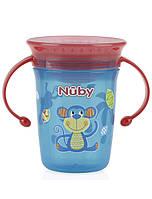 Поильник-непроливайка с ручками Nuby 360 Wonder Cup, 240 мл