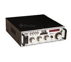 Аудио усилитель для колонок UKC SN-004BT USB, Bluetooth