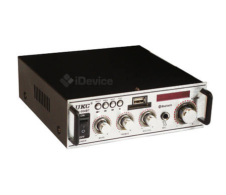 Аудио усилитель для колонок UKC SN-004BT USB, Bluetooth, фото 2