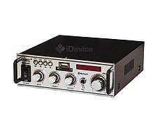 Аудио усилитель для колонок UKC SN-004BT USB, Bluetooth, фото 3