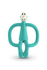 Іграшка-прорізувач Мавпочка для дітей з 3-х міс. ТМ MATCHISTICK MONKEY Зелений MM-T-008
