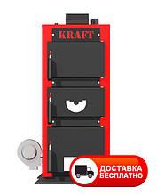 Твердотопливный котел Крафт 12 кВт серия Е с автоматикой