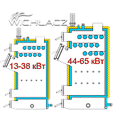 Котел твердотопливный длительного горения Wichlacz GK-1 120 кВт, фото 5