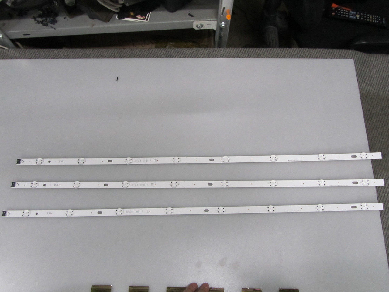 Лед подсветка LG Innotek Direct 43inch UHD 1Bar 24EA type Rev. 0.4_150408 для телевизора LG 43UF640V