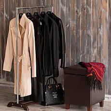 Стойка для одежды Аккорд (металл/дерево), фото 3