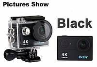 Экшн-камера H9R 4K WI-FI 120 fps аналог GoPro + 25 крепления и карта памяти Transcend на 32 гб в подарок
