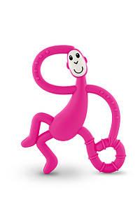 Іграшка-прорізувач Танцююча Мавпочка для дітей з 3-х міс. (14 см) ТМ MATCHISTICK MONKEY Розов. MM-DMT-003
