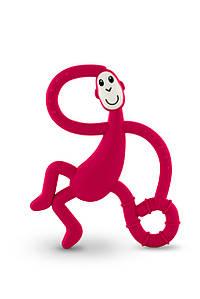 Іграшка-прорізувач Танцююча Мавпочка для дітей з 3-х міс. (14 см) ТМ MATCHISTICK MONKEY Черв. MM-DMT-004