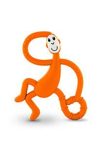 Игрушка-прорезыватель Танцующая Обезьянка для детей с 3-х мес. (14 см) ТМ MATCHISTICK MONKEY Оранж. MM-DMT-005