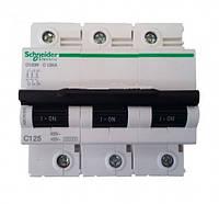Автоматический выключатель 125A 3Р C Schneider Electric C120N
