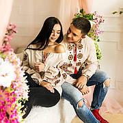 Вышиванки в этно стиле для пар Традиция