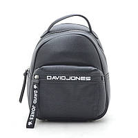 Рюкзак D. Jones  27х22х12 см цвет черный