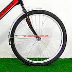 Складной велосипед Салют 2409 черно-красный, фото 3