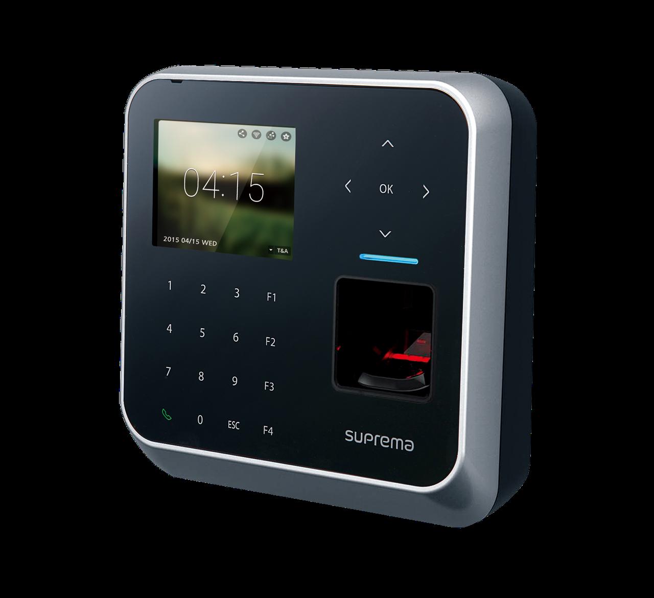 Биометрический терминал учета рабочего времени BioStation 2 (BS2-OHPW)