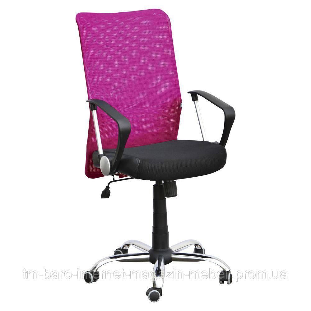 Кресло АЭРО HB сиденье Неаполь N-20/спинка Сетка бордовая