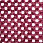 Кресло АЭРО HB сиденье Неаполь N-20/спинка Сетка бордовая, фото 3