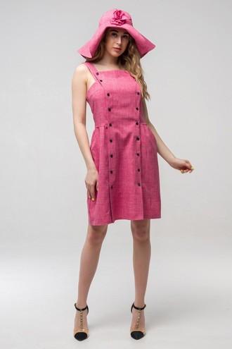 Платье летнее Бенефис ППБ 2142 розовый