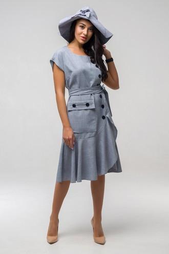 Платье летнее Джастин ППД 2162 серый