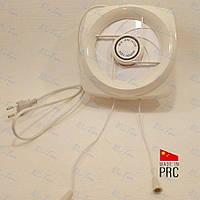 Вентилятор вытяжной 150*150 со шторой, 220В (Китай)