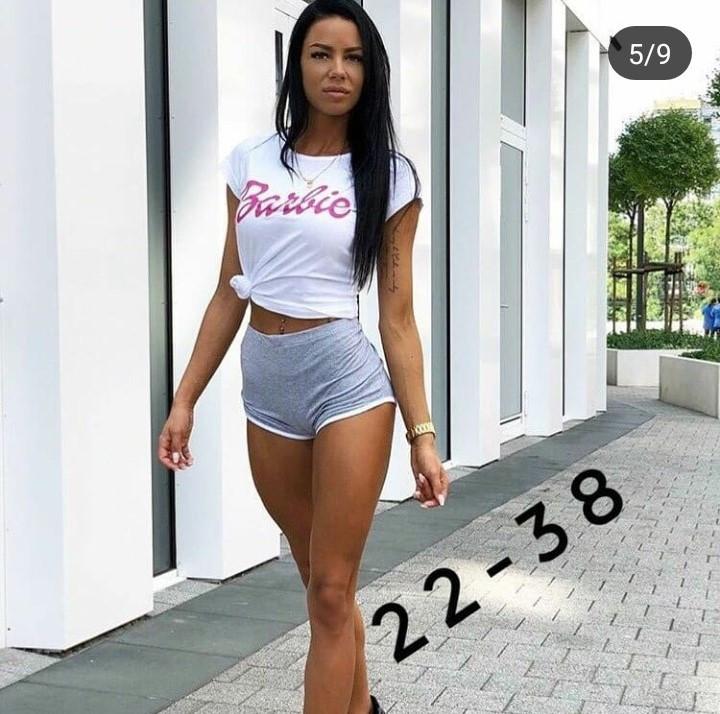 Женские трикотажные шорты