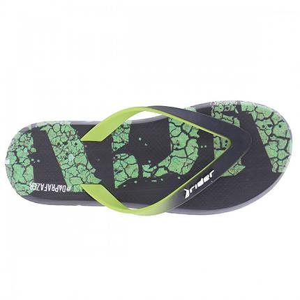 Оригинальные Вьетнамки Мужские 10719-23779 Rider R1 Energy Black/Green, фото 2