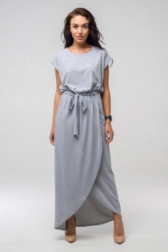 Платье летнее Asti ППА 2133 серый